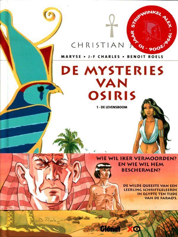 Album met wikkel - De mysteries van osiris