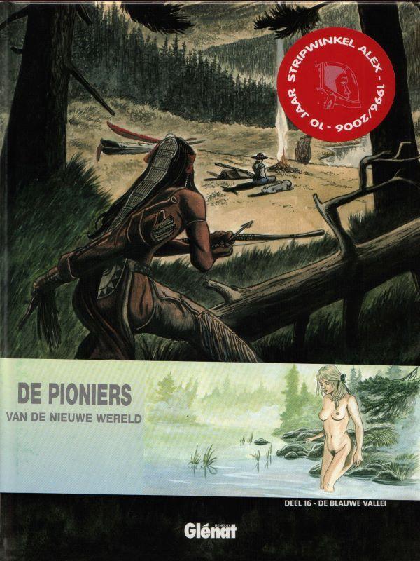 Album met wikkel - De pioniers van de nieuwe wereld