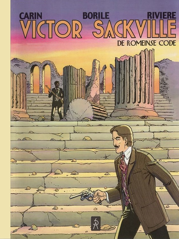 Victor Sackville 20- De romeinse code - luxe