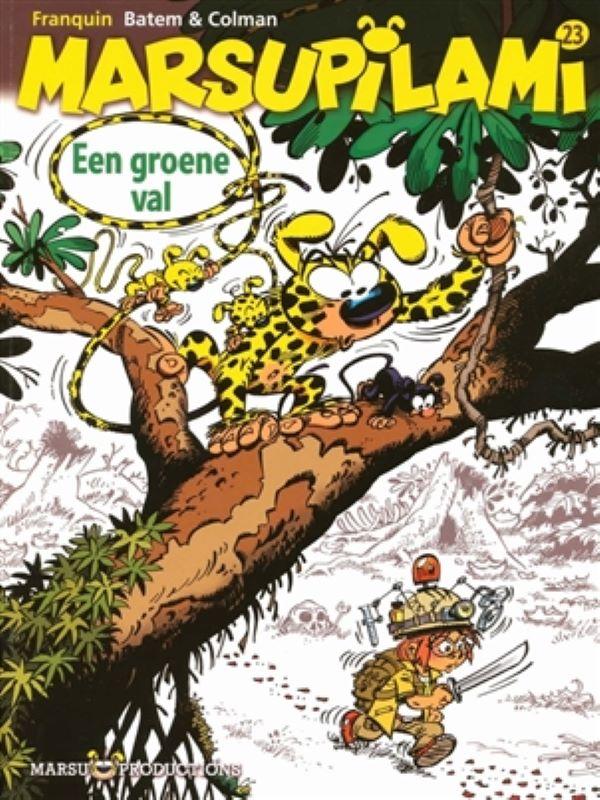 Marsupilami 23- Een groene val