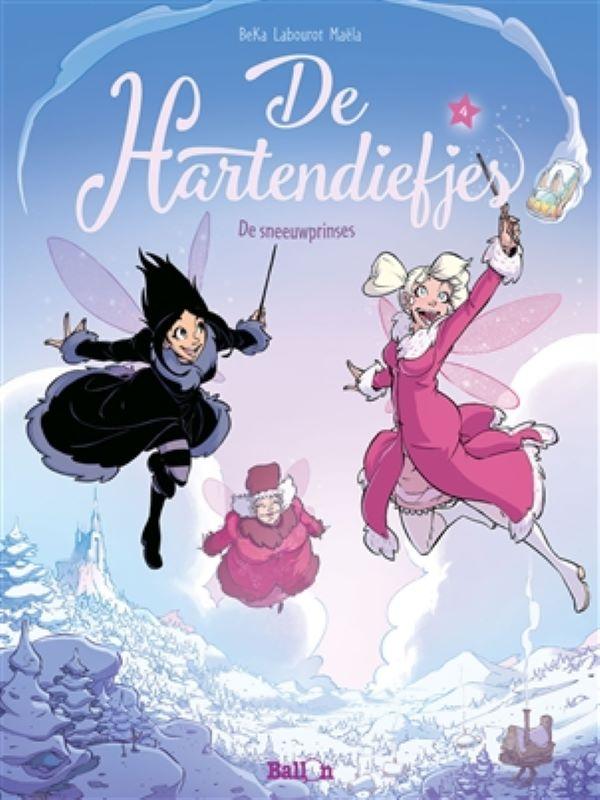 Hartendiefjes 4- De sneeuwprinses