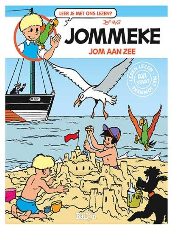 jommeke AVI- Jom aan zee