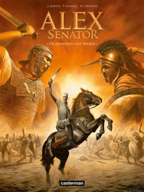 Alex senator 4- De demonen van Sparta