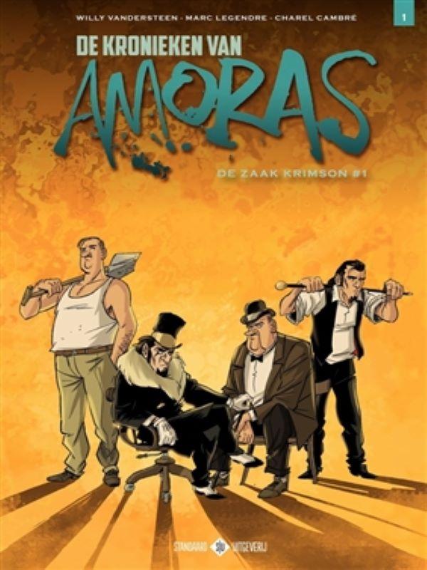 Amoras, De kronieken van 1- De zaak Krimson