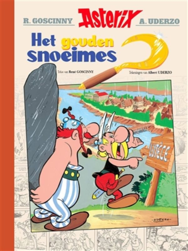 Asterix - Het gouden snoeimes luxe