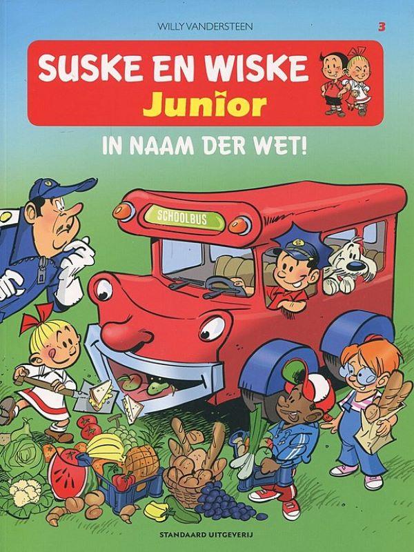 Suske en Wiske Junior 3- In naam der wet