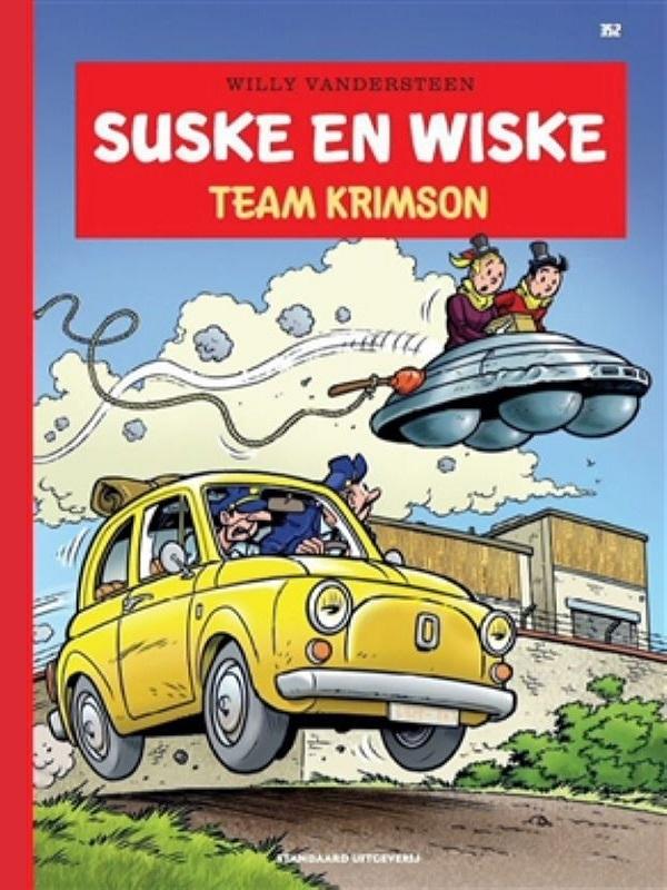 Suske en wiske 352 Luxe- Team Krimson