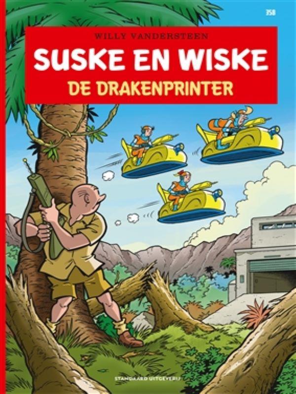 Suske en Wiske 358- De drakenplinter
