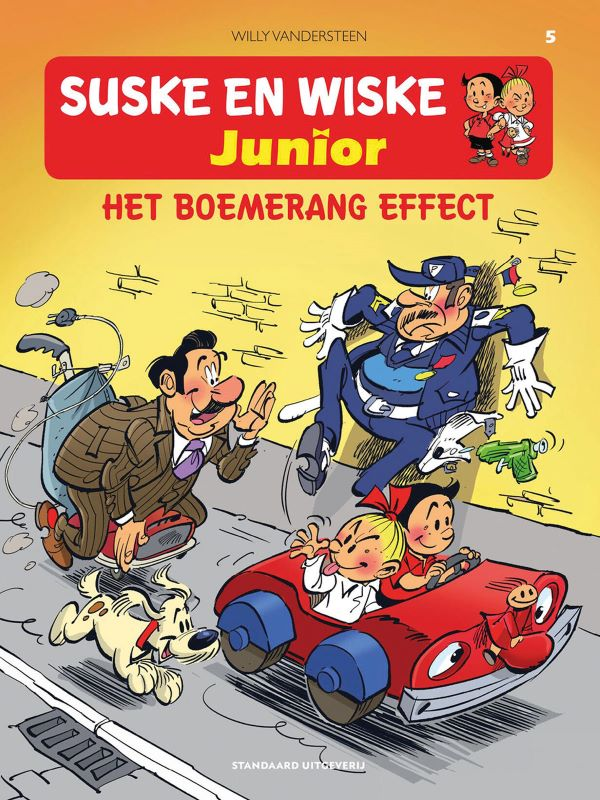 Suske en Wiske Junior 5- Het boemerang effect