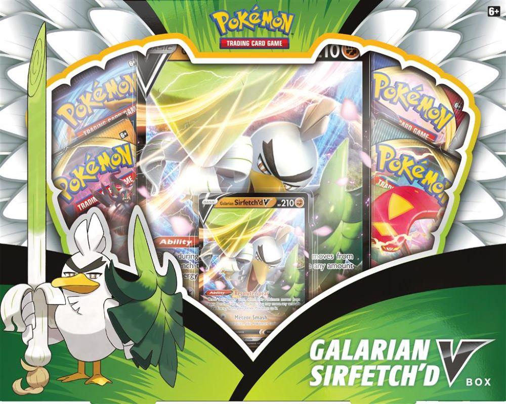 Galarian Sirfetch'd V Box
