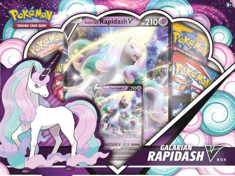 Galarian Rapidash V Box