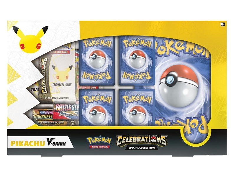 25th Anniversary- PIKACHU V UNION SPECIAL COLLECTION