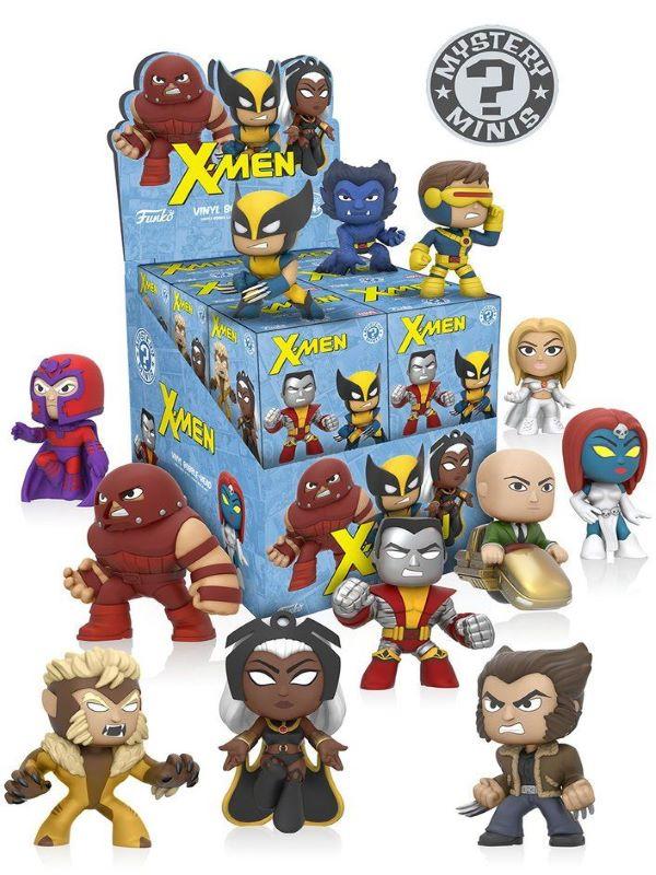 X-men Mystery Mini figures