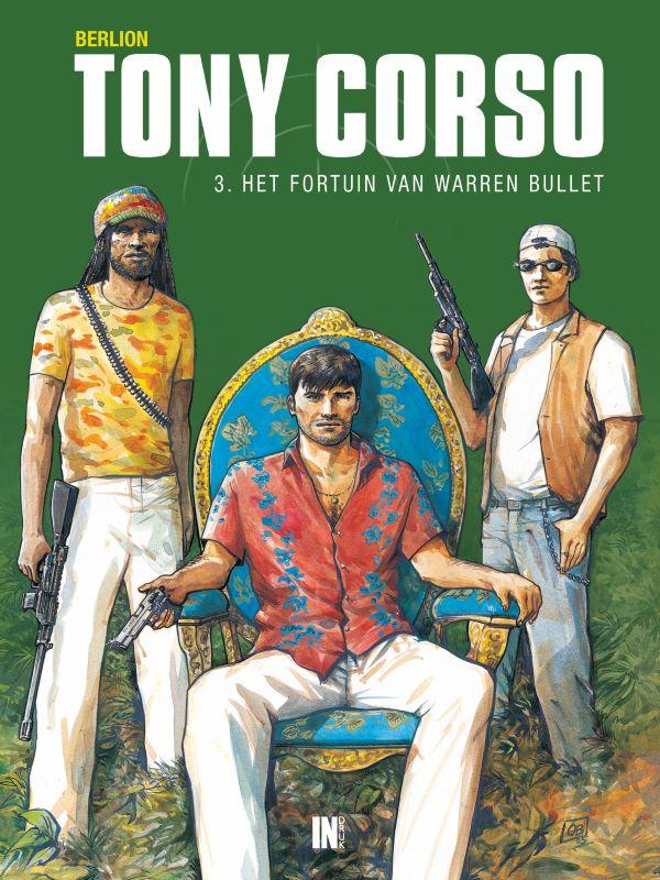 Tony Corso 3- Het fortuin van Warren Bullet