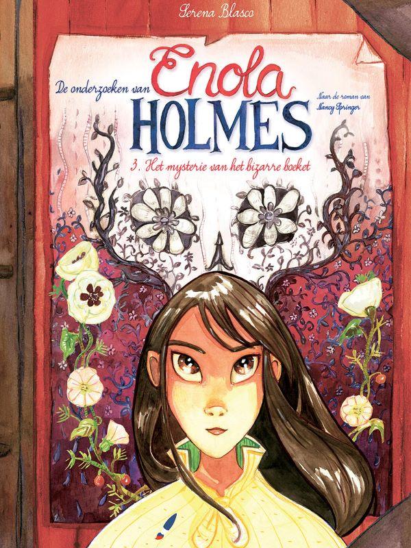 Enola Holmes 3- Het mysterie van het bizarre boeket