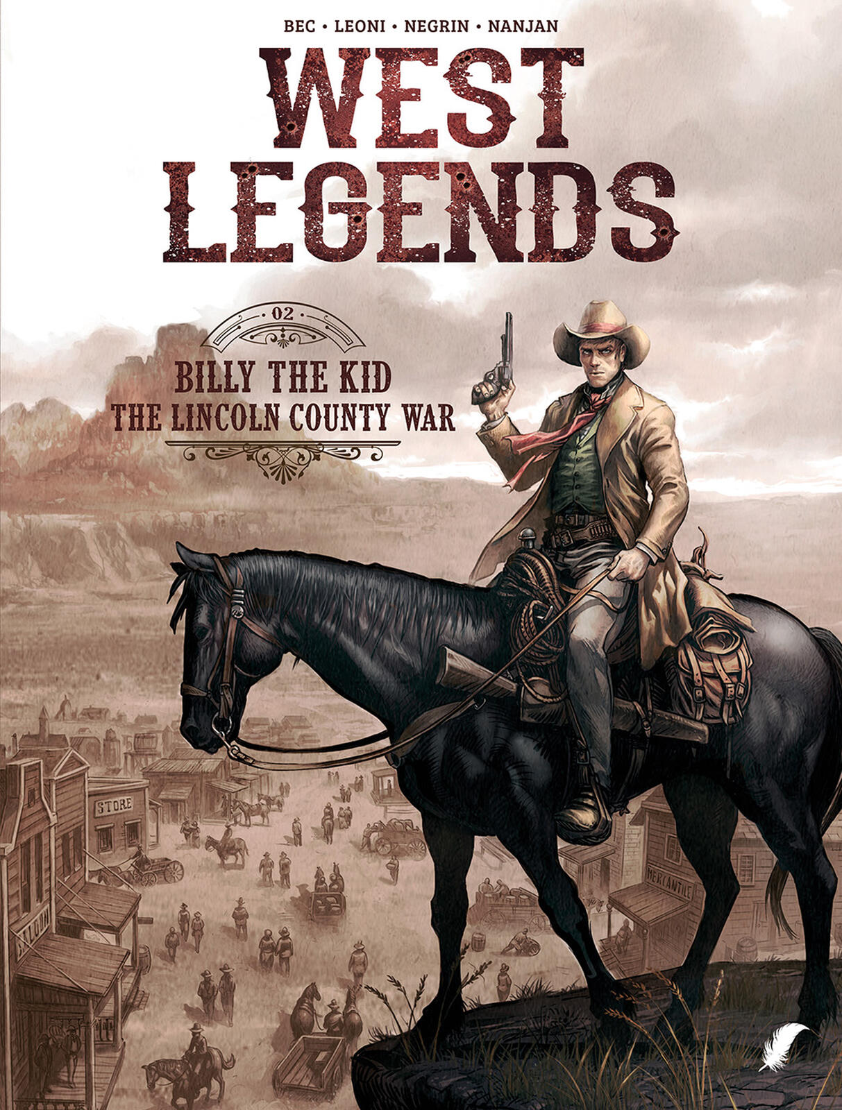 West legends 2- Billy the kid SC