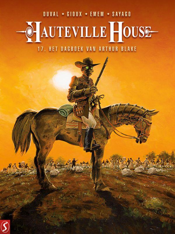 Hauteville House 17- Het dagboek van Arthur Blake